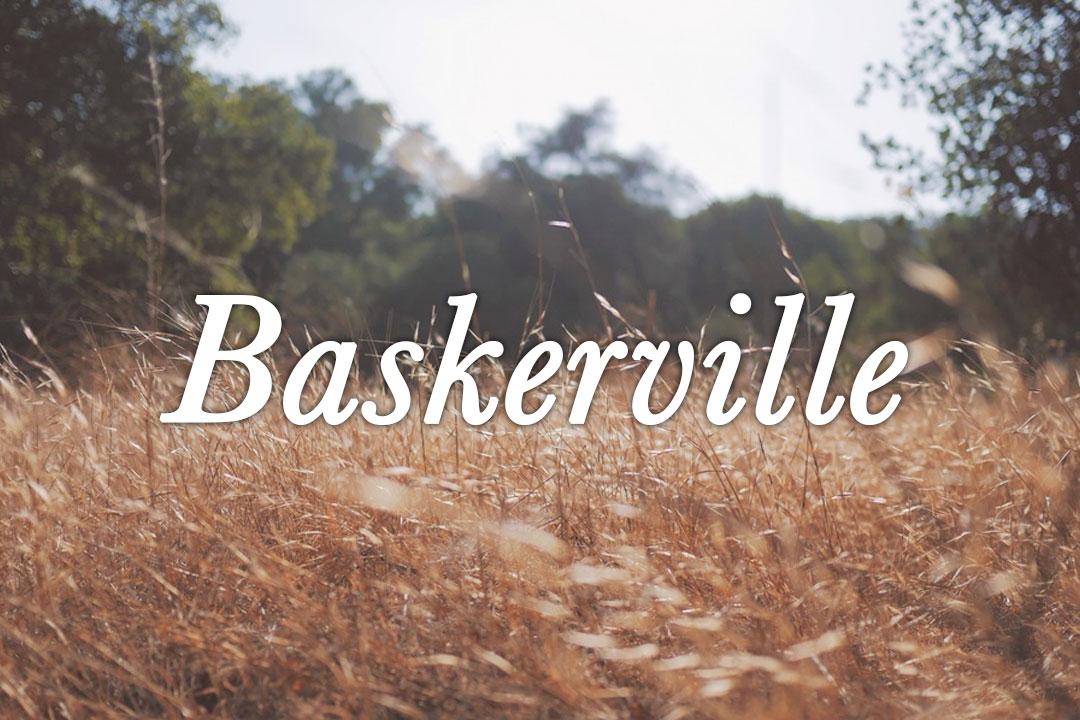 Baskerville Web Font