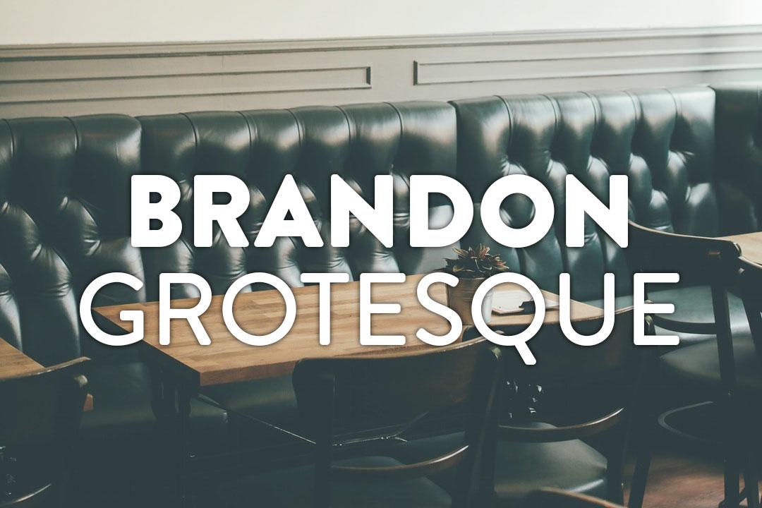 Brandon Grotesque Web Font