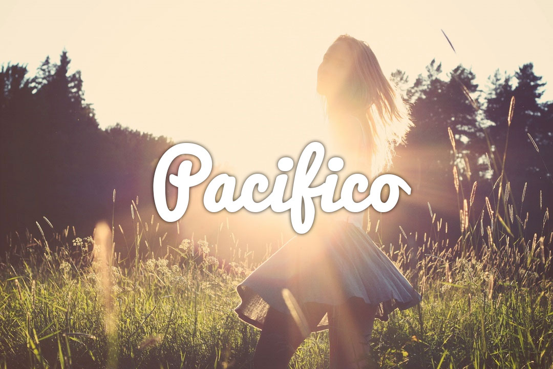 Pacifico Web Font