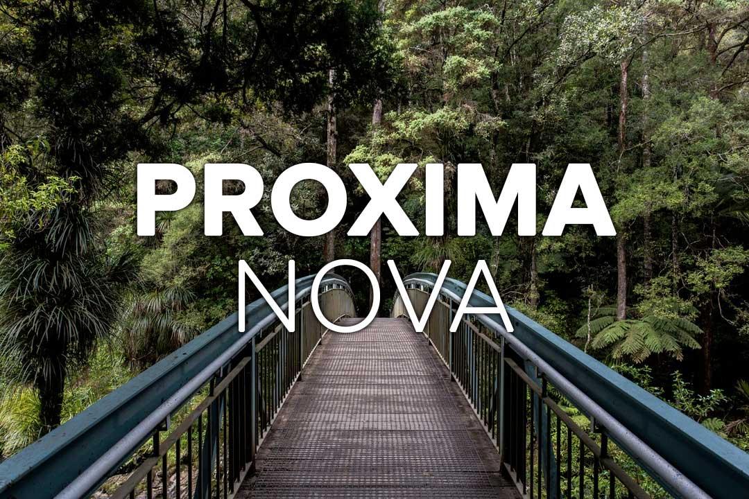 Proxima Nova Web Font