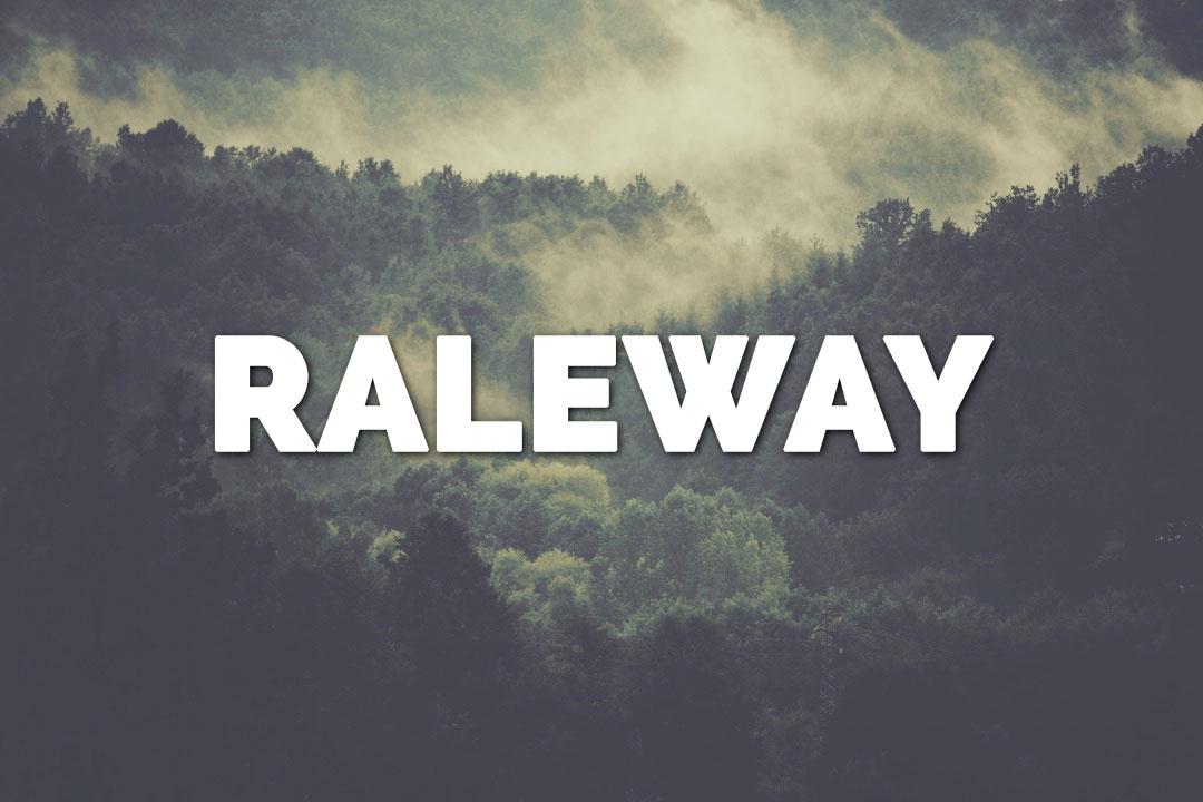 Raleway Web Font